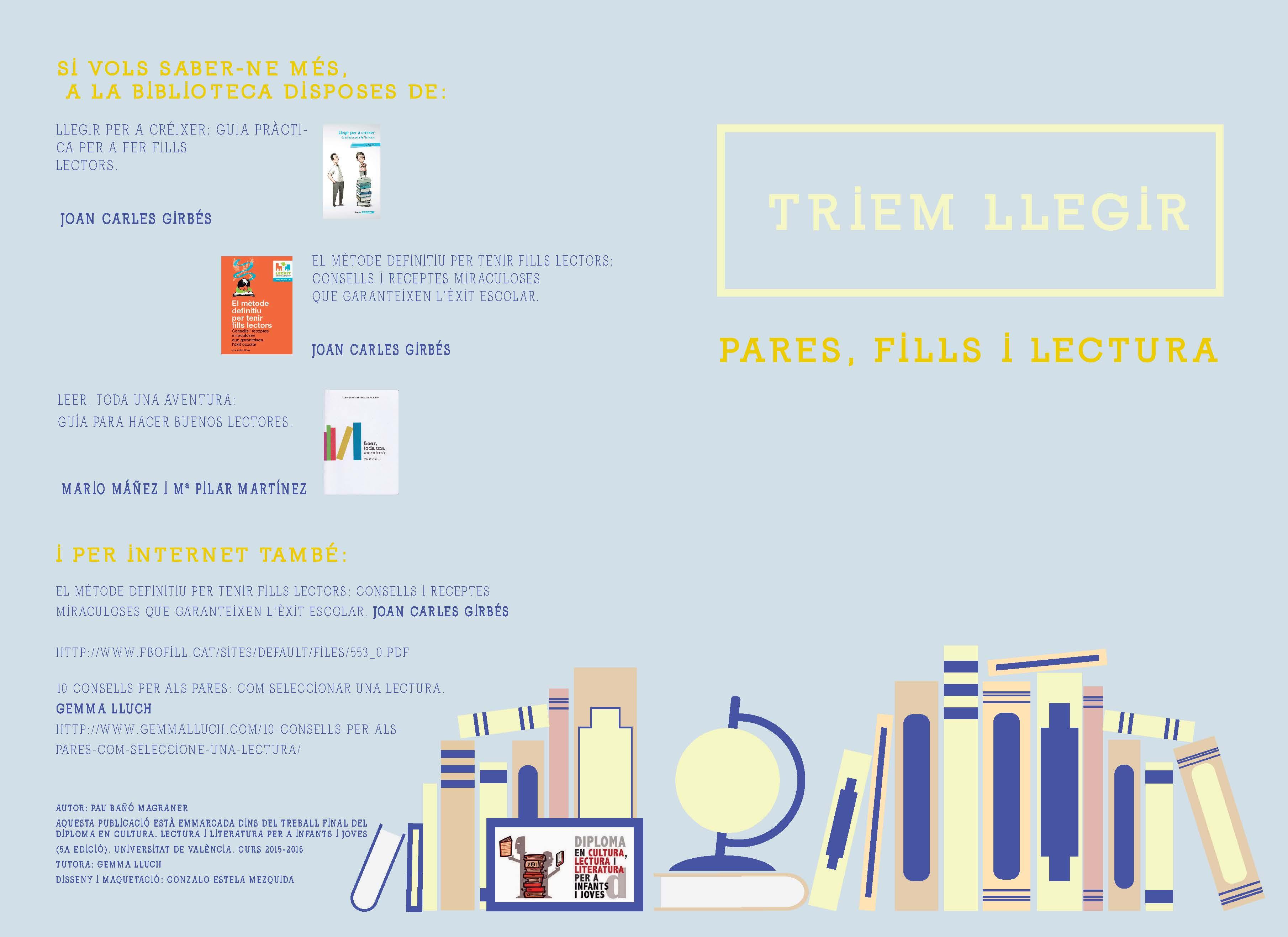 Triem llegir: pares, fills i lectura
